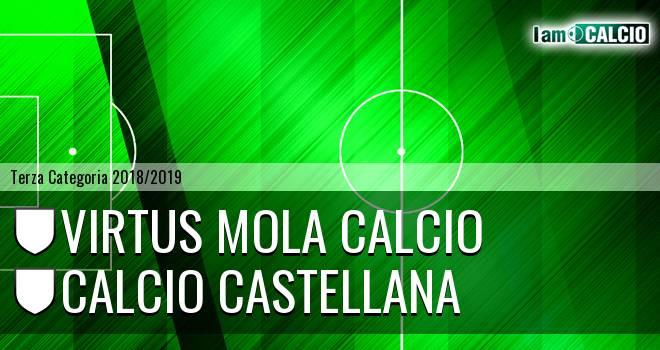 Virtus Mola Calcio - Calcio Castellana