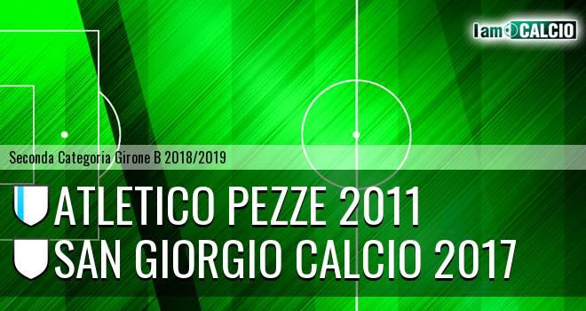 Atletico Pezze 2011 - San Giorgio Calcio 2017