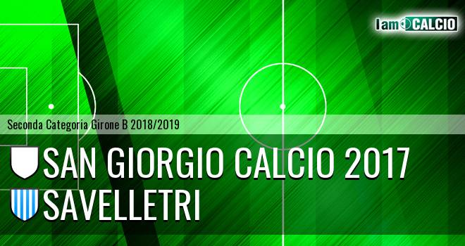 San Giorgio Calcio 2017 - Savelletri