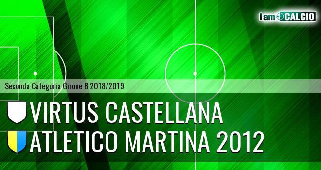 Virtus Castellana - Atletico Martina 2012
