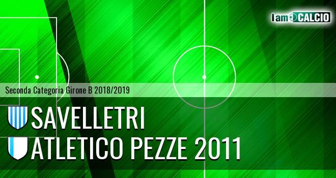 Savelletri - Atletico Pezze 2011