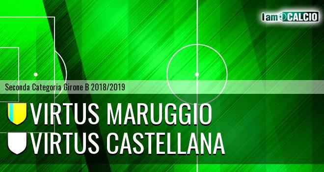 Virtus Maruggio - Virtus Castellana