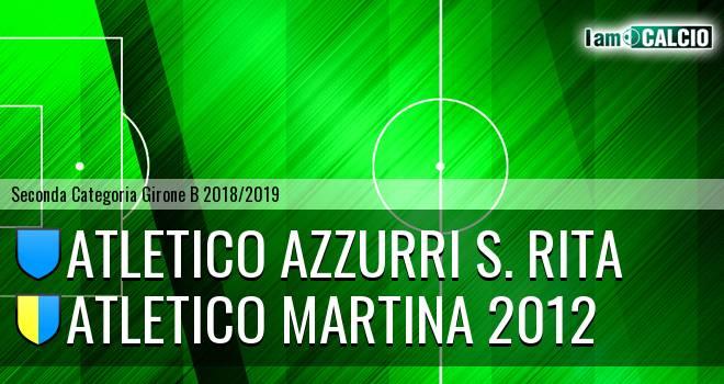 Atletico Azzurri S. Rita - Atletico Martina 2012