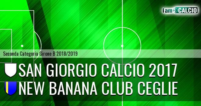 San Giorgio Calcio 2017 - New Banana Club Ceglie