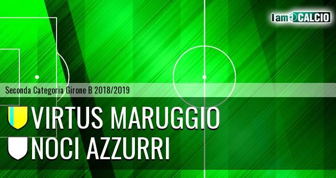 Virtus Maruggio - Noci Azzurri