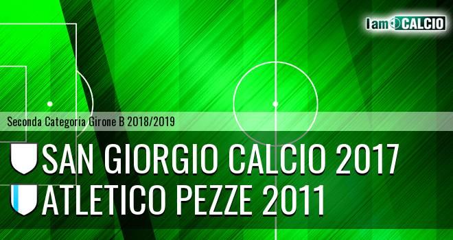 San Giorgio Calcio 2017 - Atletico Pezze 2011