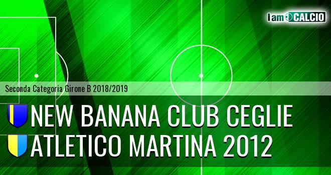New Banana Club Ceglie - Atletico Martina 2012