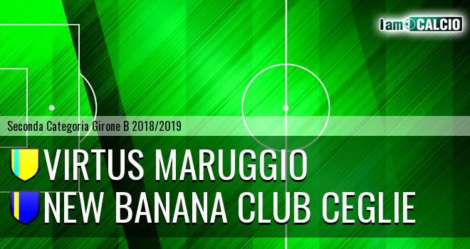 Virtus Maruggio - New Banana Club Ceglie