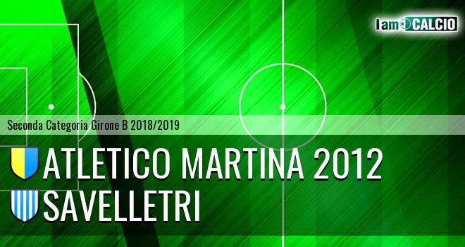 Atletico Martina 2012 - Savelletri