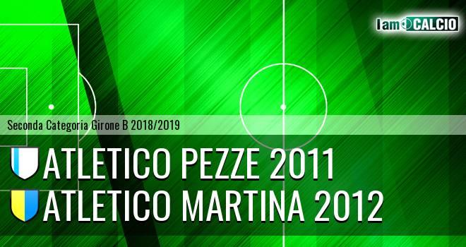 Atletico Pezze 2011 - Atletico Martina 2012