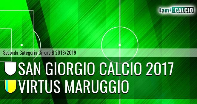 San Giorgio Calcio 2017 - Virtus Maruggio
