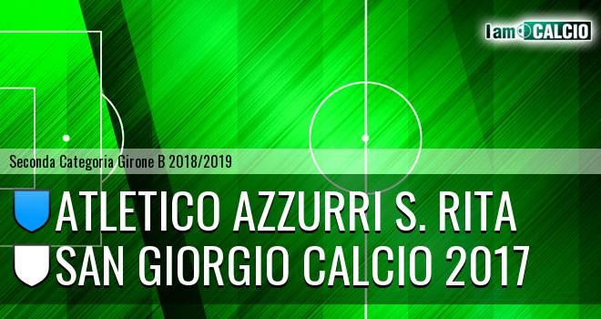 Atletico Azzurri S. Rita - San Giorgio Calcio 2017