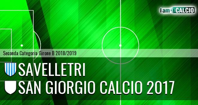 Savelletri - San Giorgio Calcio 2017