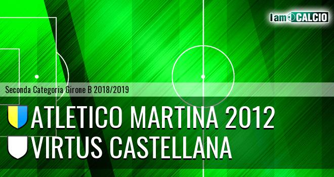 Atletico Martina 2012 - Virtus Castellana