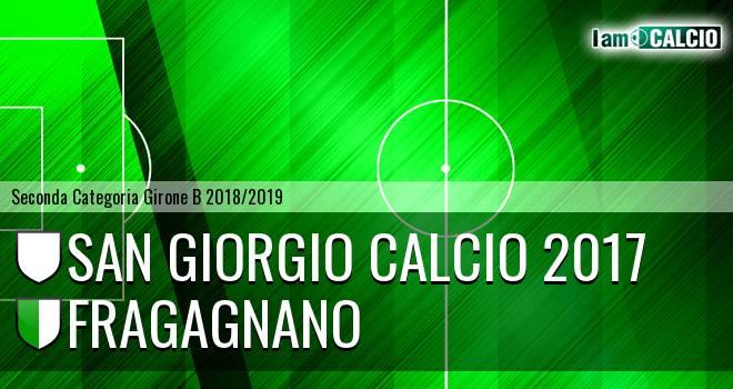 San Giorgio Calcio 2017 - Fragagnano