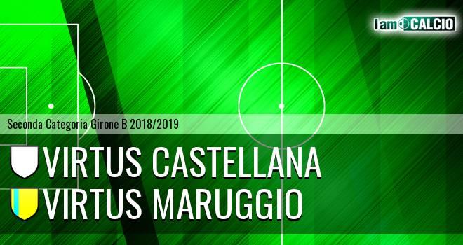 Virtus Castellana - Virtus Maruggio
