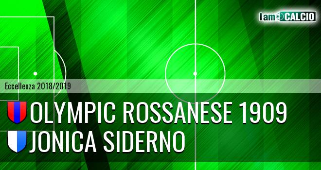 Olympic Rossanese 1909 - Jonica Siderno