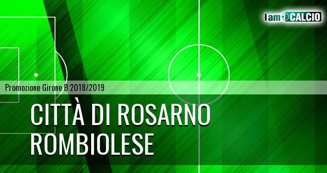 Città di Rosarno - Rombiolese