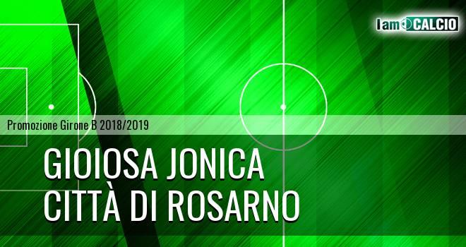Gioiosa Jonica - Città di Rosarno