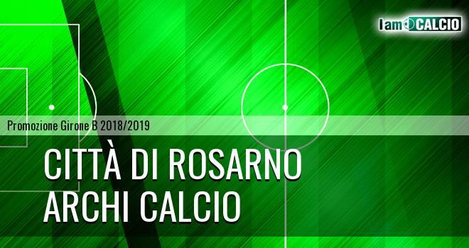 Città di Rosarno - Archi Calcio