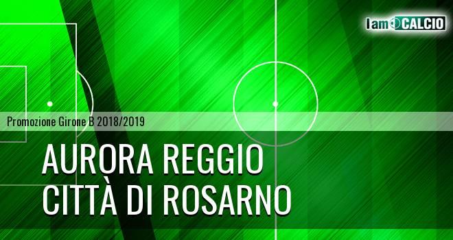 Aurora Reggio - Città di Rosarno