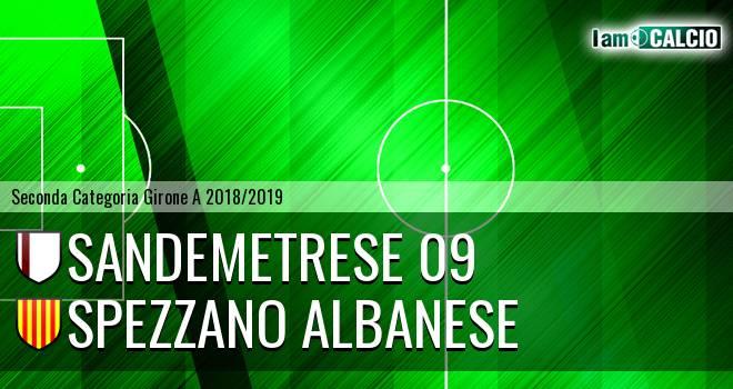Sandemetrese 09 - Spezzano Albanese