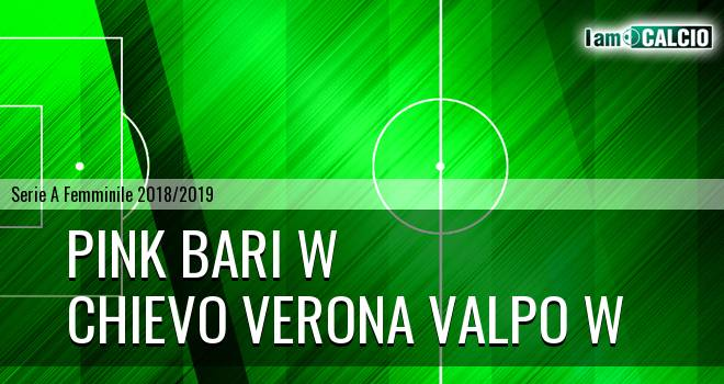 Pink Bari W - Chievo Verona Valpo W