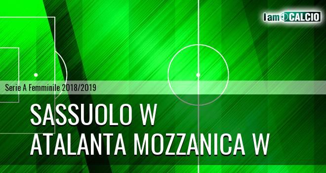 Sassuolo W - Atalanta Mozzanica W