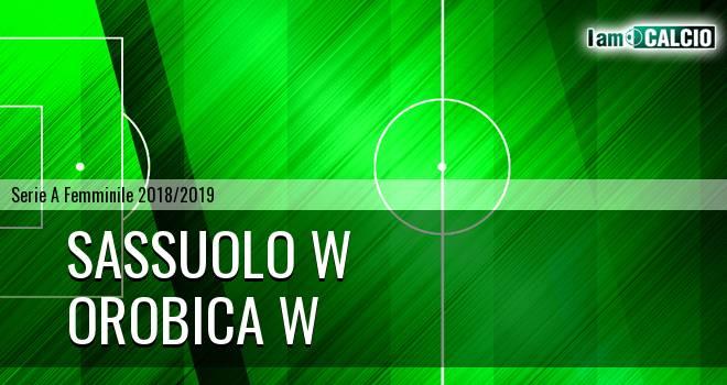 Sassuolo W - Orobica Bergamo W