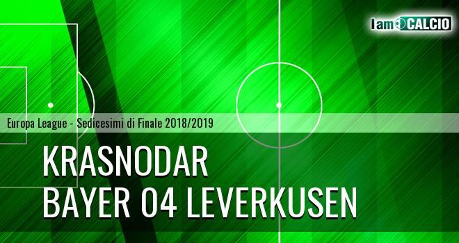 Krasnodar - Bayer 04 Leverkusen