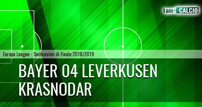 Bayer 04 Leverkusen - Krasnodar
