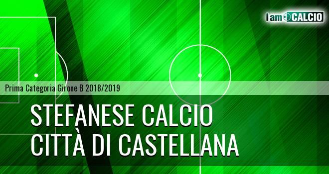 Stefanese Calcio - Città di Castellana