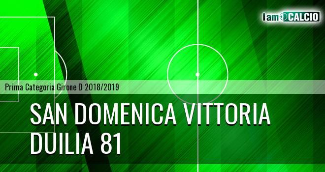 San Domenica Vittoria - Duilia 81