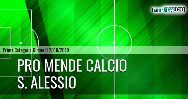 Pro Mende Calcio - S. Alessio