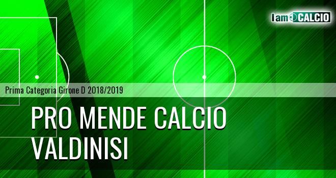 Pro Mende Calcio - Valdinisi