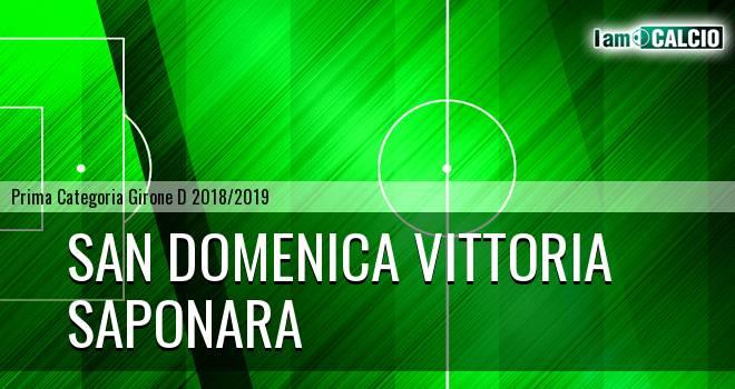 San Domenica Vittoria - Saponara