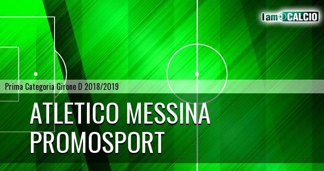 Atletico Messina - Promosport