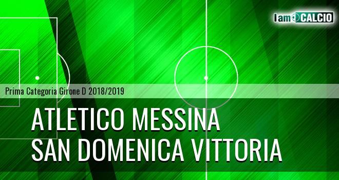 Atletico Messina - San Domenica Vittoria