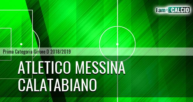 Atletico Messina - Calatabiano