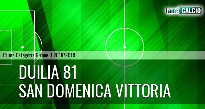 Duilia 81 - San Domenica Vittoria