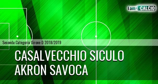 Casalvecchio Siculo - Akron Savoca