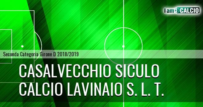 Casalvecchio Siculo - Calcio Lavinaio S. L. T.