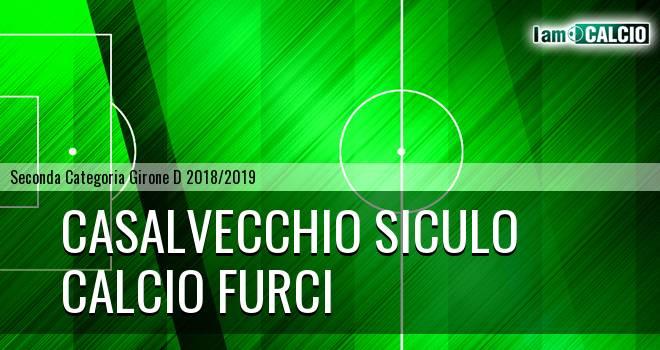 Casalvecchio Siculo - Calcio Furci