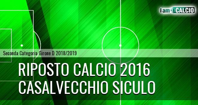 Riposto Calcio 2016 - Casalvecchio Siculo