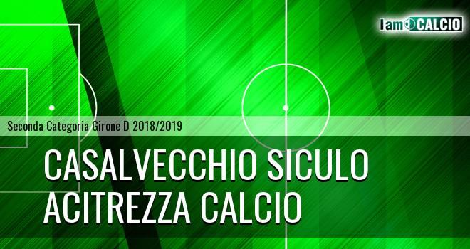Casalvecchio Siculo - Acitrezza Calcio