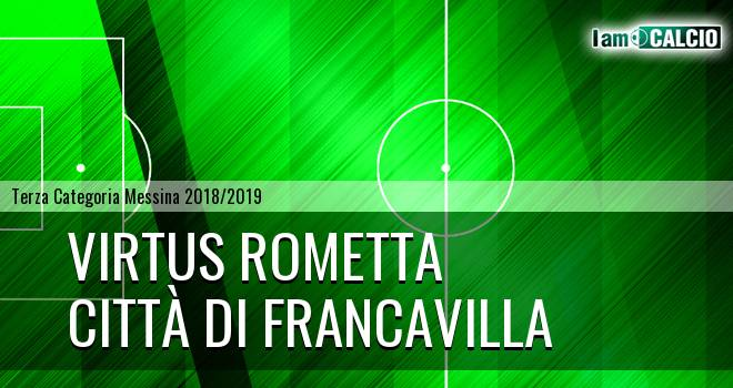 Virtus Rometta - Città di Francavilla