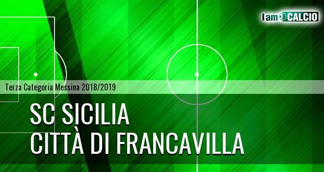 Sc Sicilia - Città di Francavilla