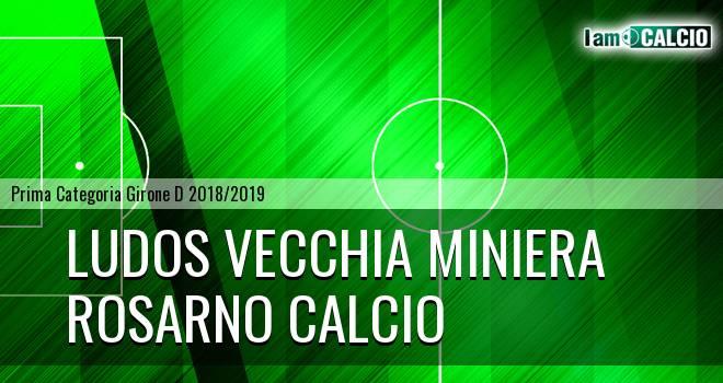 Ludos Vecchia Miniera - Rosarno Calcio