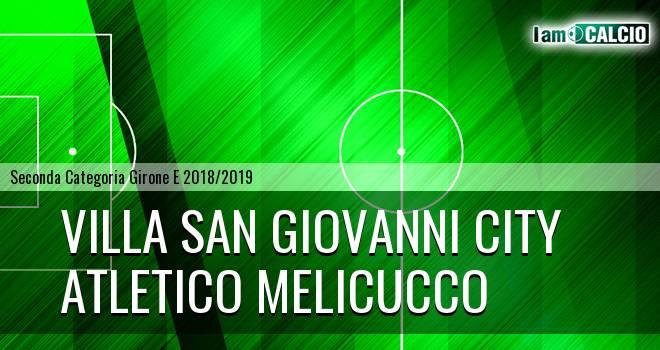 Villa San Giovanni City - Melicucco Calcio
