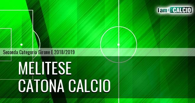 Melitese - Catona Calcio